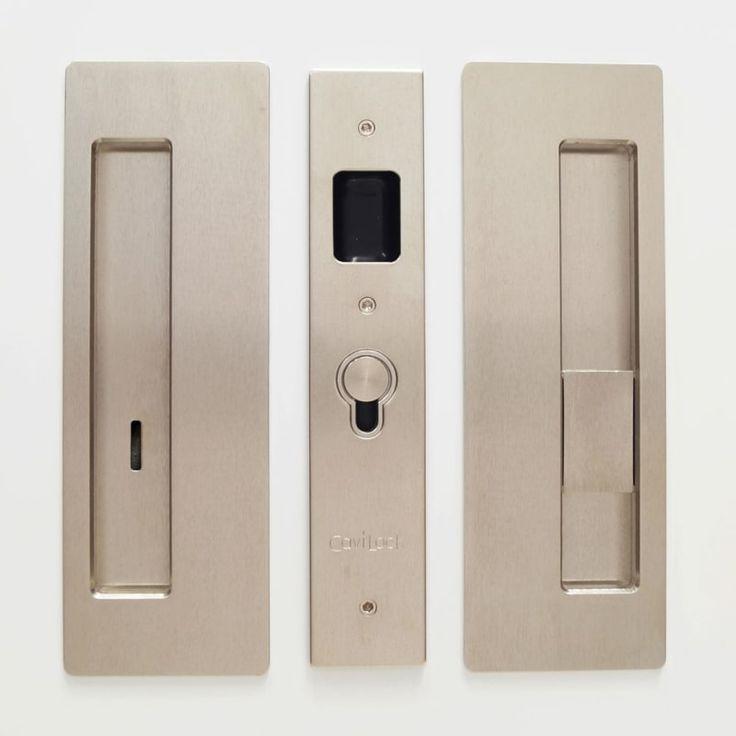 Cavilock cl400b0328 satin nickel privacy pocket