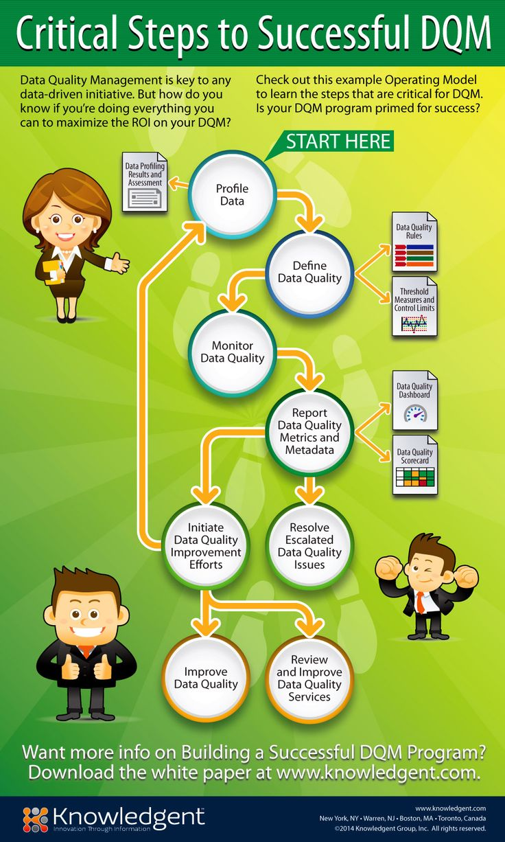 Critical Steps to Successful DQM