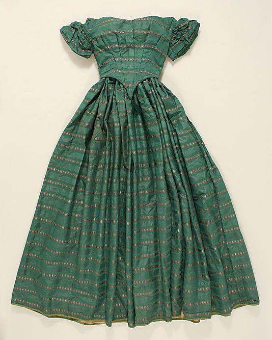 Ensemble  Date: ca. 1850 Culture: American Medium: silk