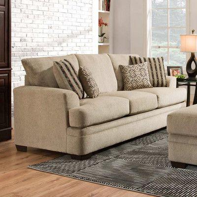 Chelsea Home Calexico Sofa Upholstery: Cornell Platinum