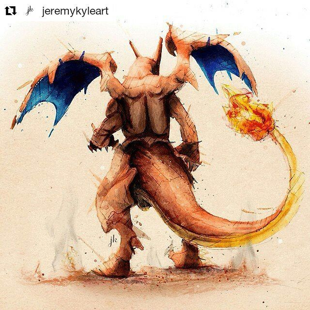 Charizard illustration . . #Pokemon #Charizard #Draw #Drawing #Art #Fanart #Artist #Illustration #Design #sketch #doodle #tattoo #Arthelp #Anime #Manga #Otaku #Gamer #Nerdy #Nerd #Comic #Geek #Geeky . . Geek drawings gallery. Use #ArtForGeeks for a chance to be featured Artist credit