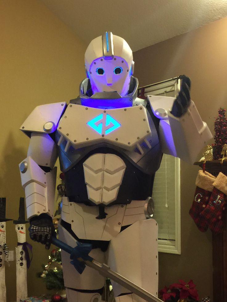 G7 - Foam robot costume