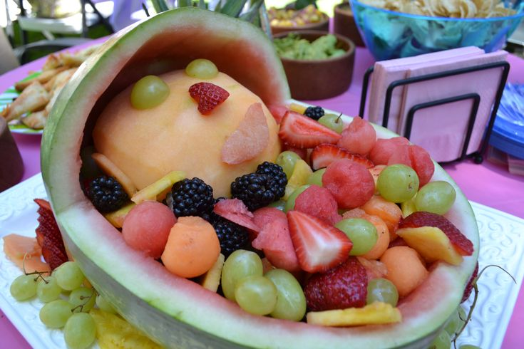 Cute Fruit Salad For Baby Shower Great Side Dish To