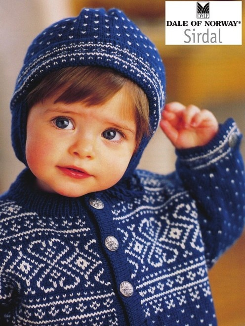 Dale of Norway--Sirdal (6 - 24 months) Oh how I wish I learned more from my mom. I miss her teaching so much. She was a wonderful Norwegian knitter.