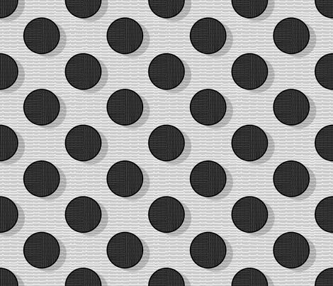 pois in positive 50 fabric by chicca_besso on Spoonflower - custom fabric