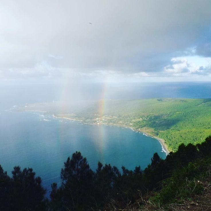 今週も私のラジオ番組 #air_g #hawaiiantime にお付き合いMAHALOございました . 次回の放送まで無料アプリ #radiko で聞く事ができるのでのんびりアロハな時間を過ごしてね . 自分の方へゆっくり移動してきたダブル レインボー歴史的に凄い所だったので色んなパワーを感じた想い出の1枚 . #rainbow #anuenue#doublerainbow #onairpersonality #partymc #hulagirl #selfdiscoveryjourney #sapporo #hokkaido #hawaii #aloha #ハワイ #アロハ #札幌 #北海道 #ラジオdj #司会者 #マッサージセラピスト #鍼灸師 #通訳 #ライター#フラガール #ロコガール