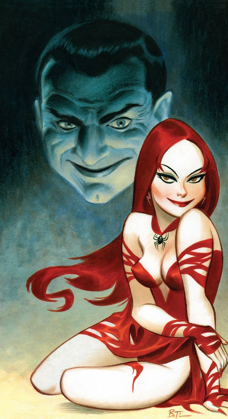 Vampires by Bruce Timm