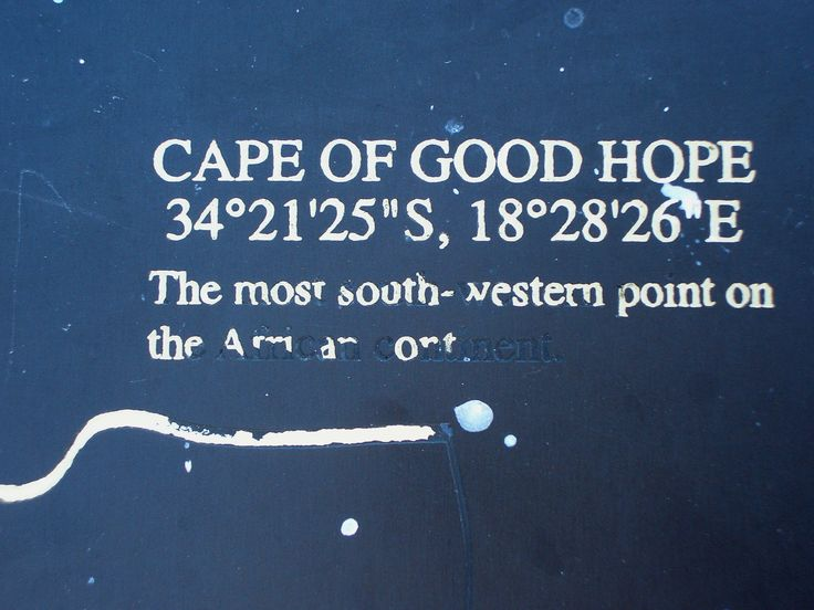 Cape of Good Hope co-ordinations. #EpicEnabled
