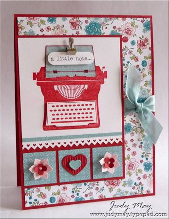 Just Judy Designs blog: Design Blog