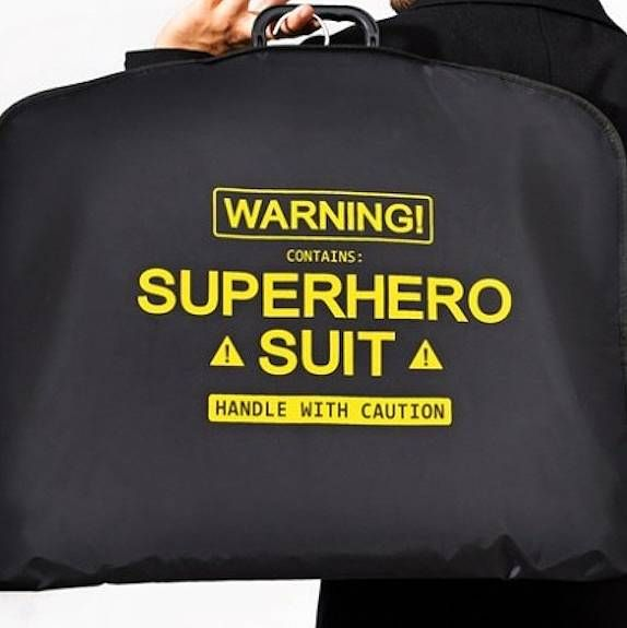 super hero suit carrier by thelittleboysroom | notonthehighstreet.com
