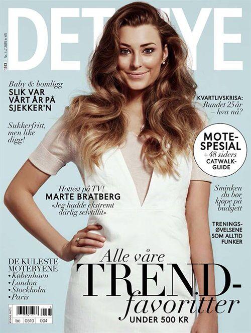 Bladet Det Nye er spekket med de nyeste trendene, shoppingtips, skjønnhet, kjendisintervjuer, livsstil, relasjoner, jobb og utdanning.