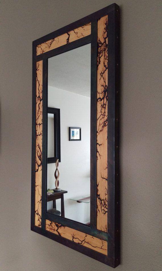Pin On Lichtenberg Wood and metal mirror