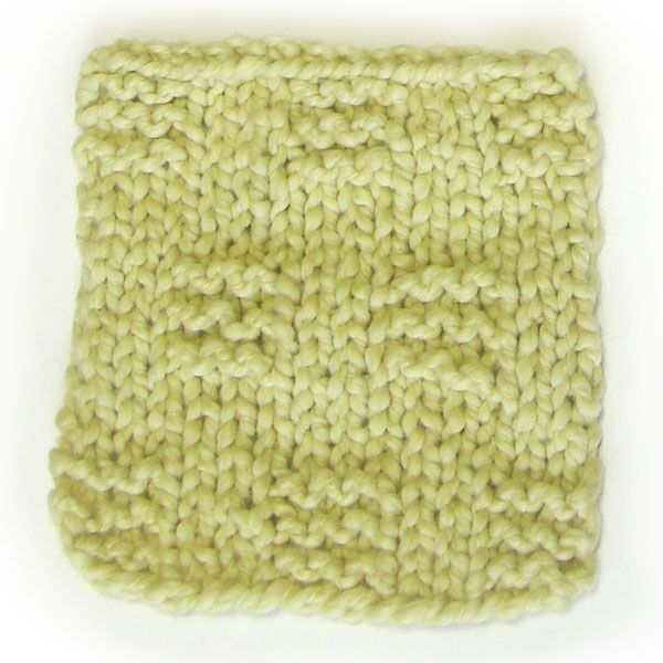Knitting Rhyme For Purl Stitch : Knit and purl stitch crochet pattern