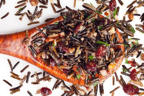 Wild Rice, Pecan, and Cranberry Salad Recipe - CHOW