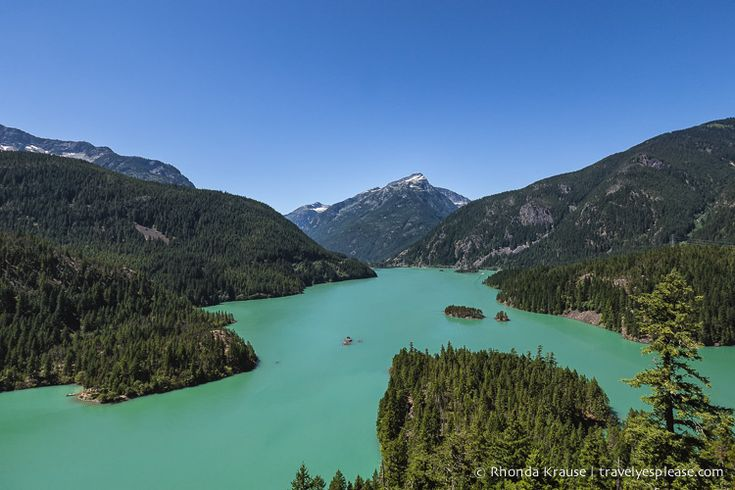 travelyesplease.com | Photo of the Week: Diablo Lake, North Cascades Highway (Blog Post) | Washington, United States