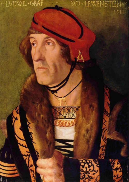 16th Century portrait by Hans Baldung Grien (1513) I think some people think that initial and name jewelry only became fashionable recently but as this and of course Anne Boleyn's famous B necklace prove this is far from the case