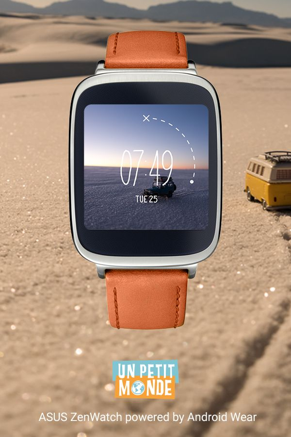 Un Petit Monde watch face for Android Wear.