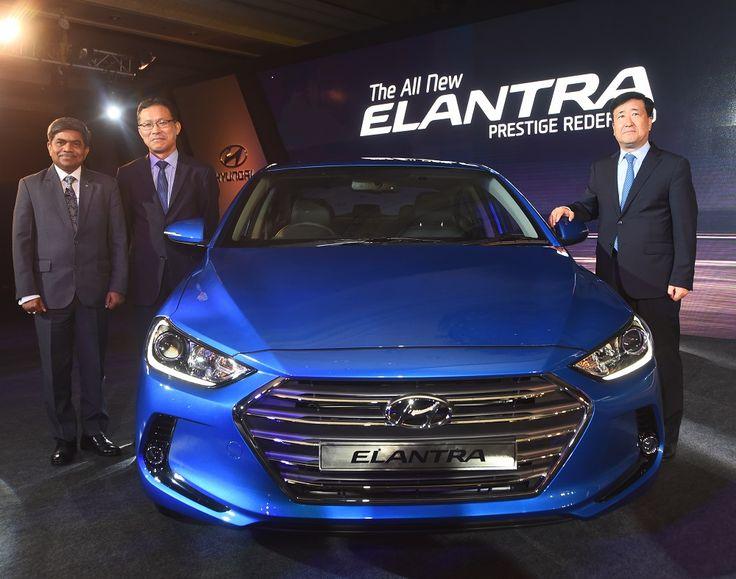 #Hyundai #Launches Global #Sedan 'All New #Elantra '