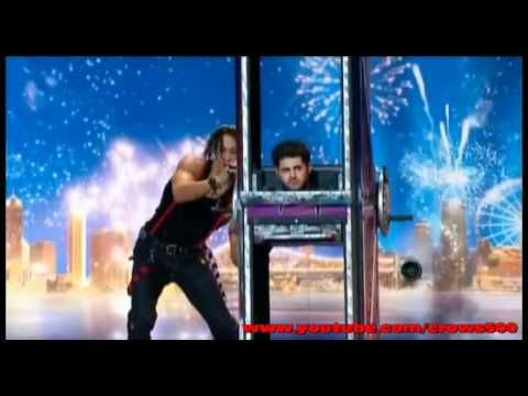 Cosentino - Australia's Got Talent 2011 (Illusionist Magic Act)