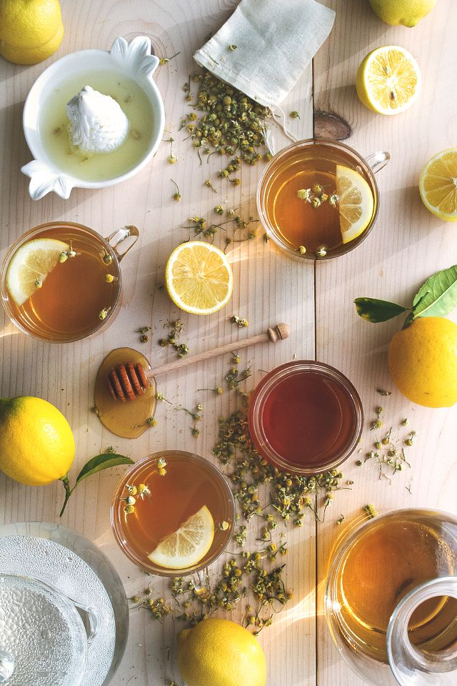 Chamomile Hot Toddy Recipe. Perfect for today. #merrymodcloth #recipe