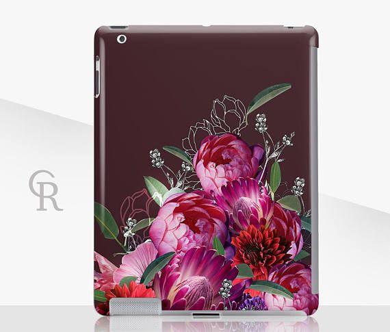 Floral iPad Case  iPad 2 iPad 3 iPad 4 and iPad Mini iPad