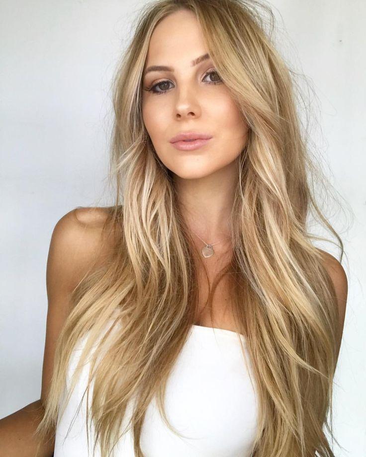 Penetration picture perm long blonde hair