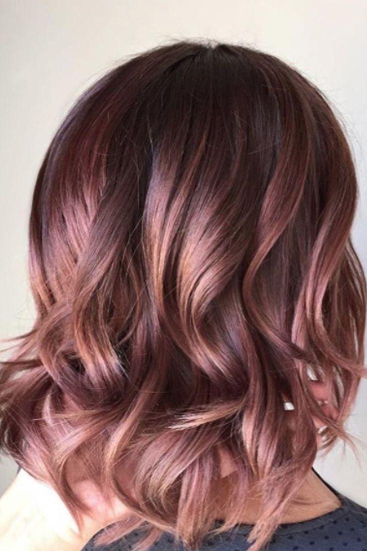 Hair Color Short Hair Best Way To Color Your Hair At Home Check More At Http Www Fitnursetaylor Com Hair Colo Gaya Rambut Rambut Panjang Warna Rambut Ombre