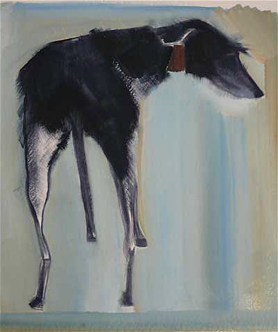 Lurcher   www.sallymuir.co.uk