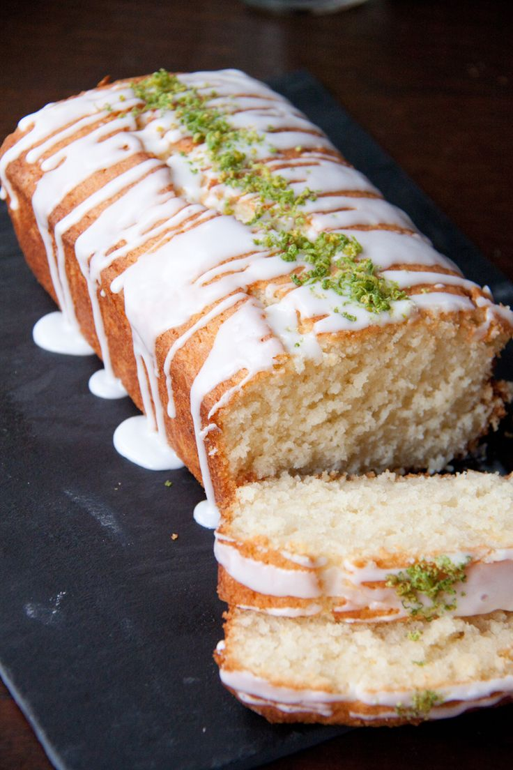 Lime and Coconut Cake by a girlandherhome #Cake #Lime #Coconut