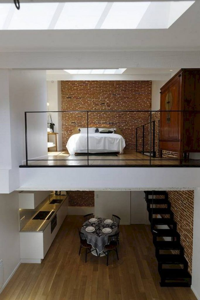 43 Awesome Tiny Apartment With Loft Space Ideas Page 24 Of 45