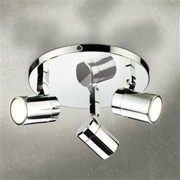 HiB Trilogy Three Multi-angled LED Spotlight
