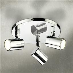 HiB Trilogy Three Multi-angled LED Spotlight