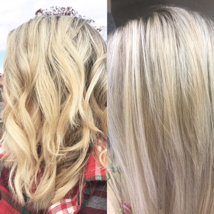 After Just One Wash With Purple Shampoo! Clairol Shimmer Lights. This Is A  Must For Brassy Hair. | Hair | Pinterest | Brassy Hair, Purple Shampoo And  ...