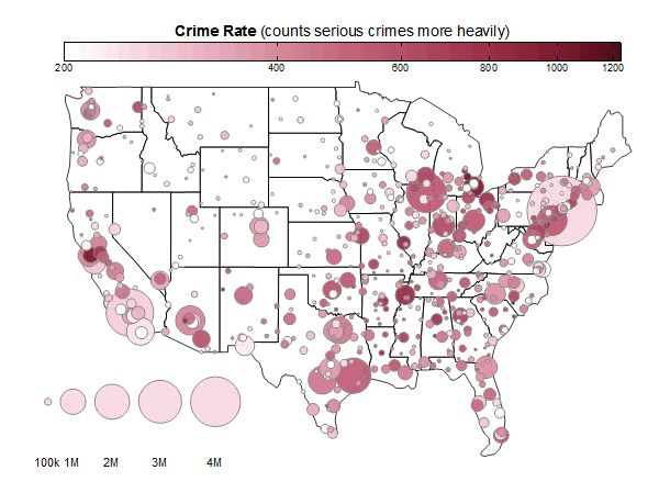 Best Us Crime Rate Ideas On Pinterest Crime Rates By City - Us map of crime rates