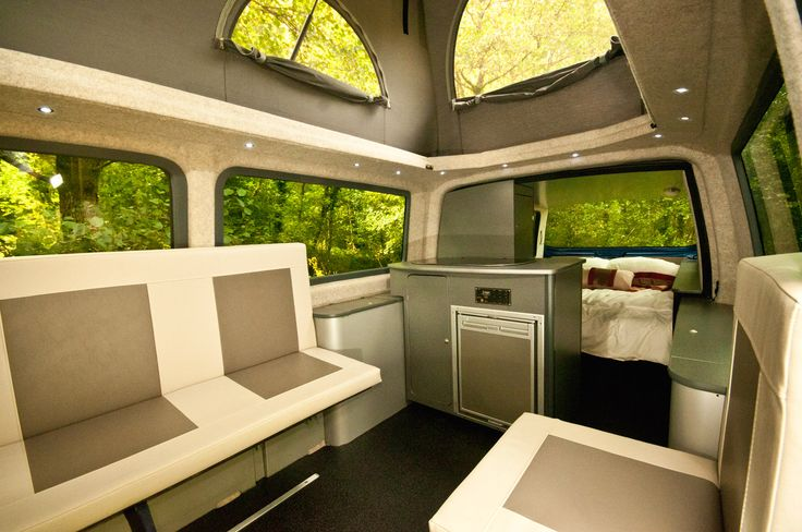 Doubleback. Revolutionalry VW T5 Campervan Conversion from Danbury Motorcaravans