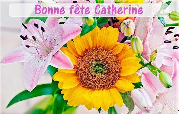 """Souhaitons une """"Bonne Fête"""" à Catherine de Sienne, Cathy, Katia, Ketty, Kittie, ..."""