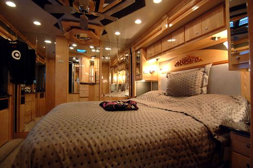 bedroom in rv dream cars and rvs pinterest