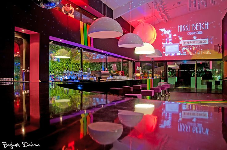 Decoration Discotheque - Amenagement Relooking Boite de Nuit | Plus Haut Design