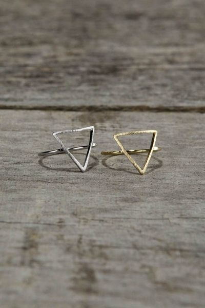 Hipster triangle rings,YES PLEASE!