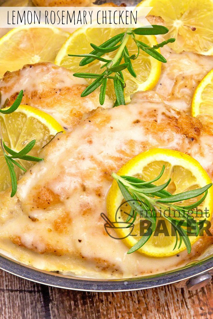 Simple sauteed chicken with bright lemon and aromatic rosemary flavors. Ready in 30 minutes!