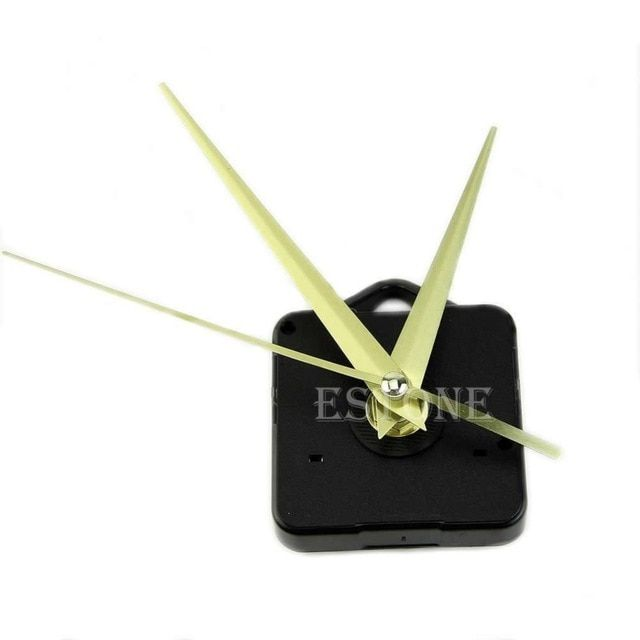 Quartz Clock Movement Mechanism Hands Diy Repair Parts Kit Review Diy Repair Quartz Clock Movements Clock Movements
