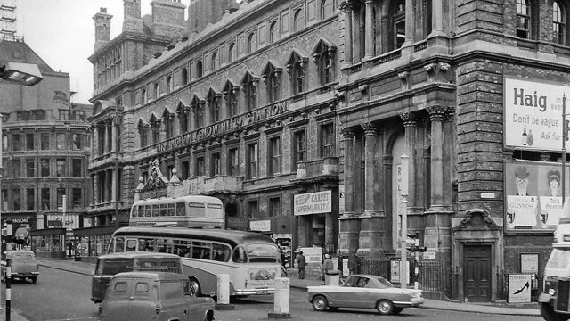 Birmingham Snow Hill railway station 1962
