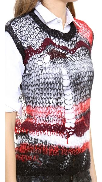 Rodarte handknit....€800!!....could be a stash buster knitters!