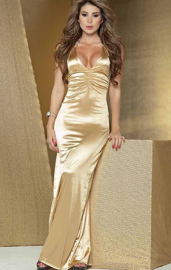 52 best Golden Glamour images on Pinterest   Short dresses ...
