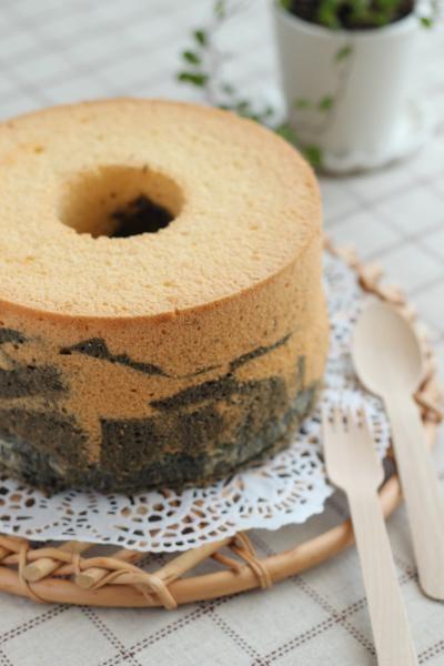 黒胡麻シフォンケーキ
