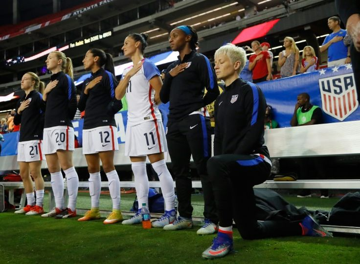 US Soccer requires players to stand for anthem – reports
