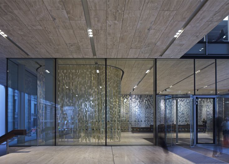 The Stirling Prize-nominated headquarters for Rothschild Bank in London by OMA.