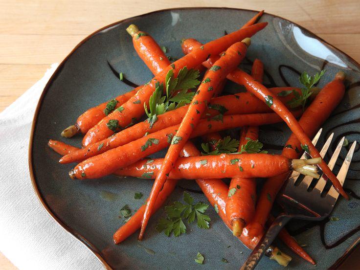 Glazed sous-vide carrots. [Photographs: J. Kenji Lopez-Alt]...