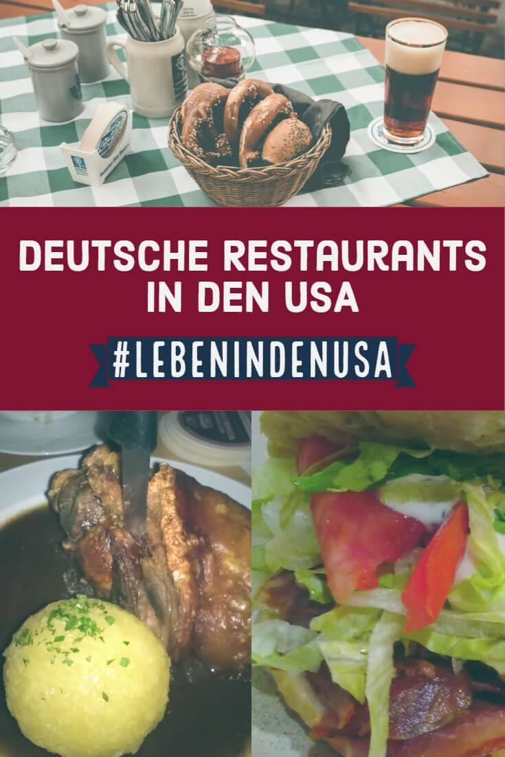 Deutsche Restaurants In Den Usa Deutsche Restaurants Deutsches Essen Essen