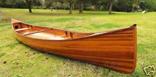 NEW CEDAR STRIP GRANDE CANOE WOODEN BOAT 16' FOR SALE, use for hanging bed